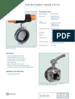WAFER TYPE BUTTERFLY VALVE Z 611-K.pdf