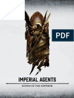 WH40k - Imperial Agents - Codex 7e Rules Book
