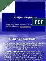 Sign o Linguistic o
