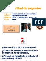 Sesion 09 Los Costos Economicos a Corto y Largo Plazo