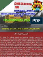 001MAQUINARIA PESADA DEF Y CLASIFICACION DE MAQUINARIA PESADA 2017.ppt