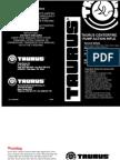 Taurus Thunderbolt Rifle Manual [1]