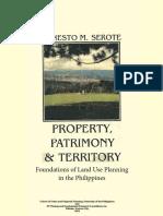 PROPERTY,+PATRIMONY+&+TERRITORY