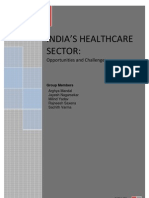 Opportunities & Challenges in Healthcare Sector