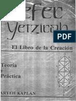 Kaplan Aryeh - Sefer Yetzirah El Libro de La Creacion - Teoria Y Practica