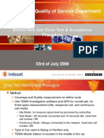 Alcatel Drivetest Procedure NewSite