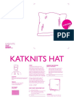 Katknits Hat Pattern ENG