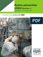 PSC Pocket Checklist