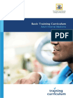 Basic Training Adult Internal Medicine Curricula