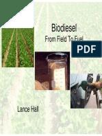 Produksi Biodiesel Skala Kecil