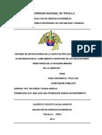 SISTEMA+DE+DETRACCIONES+EN+LA+VENTA+DE+ORO+EXONERADO+DEL+IGV+Y+SU+INCIDENCIA+EN+EL+CUMPLIMIENTO+OPORTUNO+DE+LAS+OBLIGACIONES+TRI