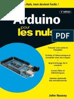 Arduino Pour Les Nuls Poche 2e Edition Mai 2017