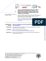 Age-Associated Resident Memory CD8 T