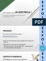 Lecture 1 (Leyes Fundamentales de Las Maquinas Electricas)