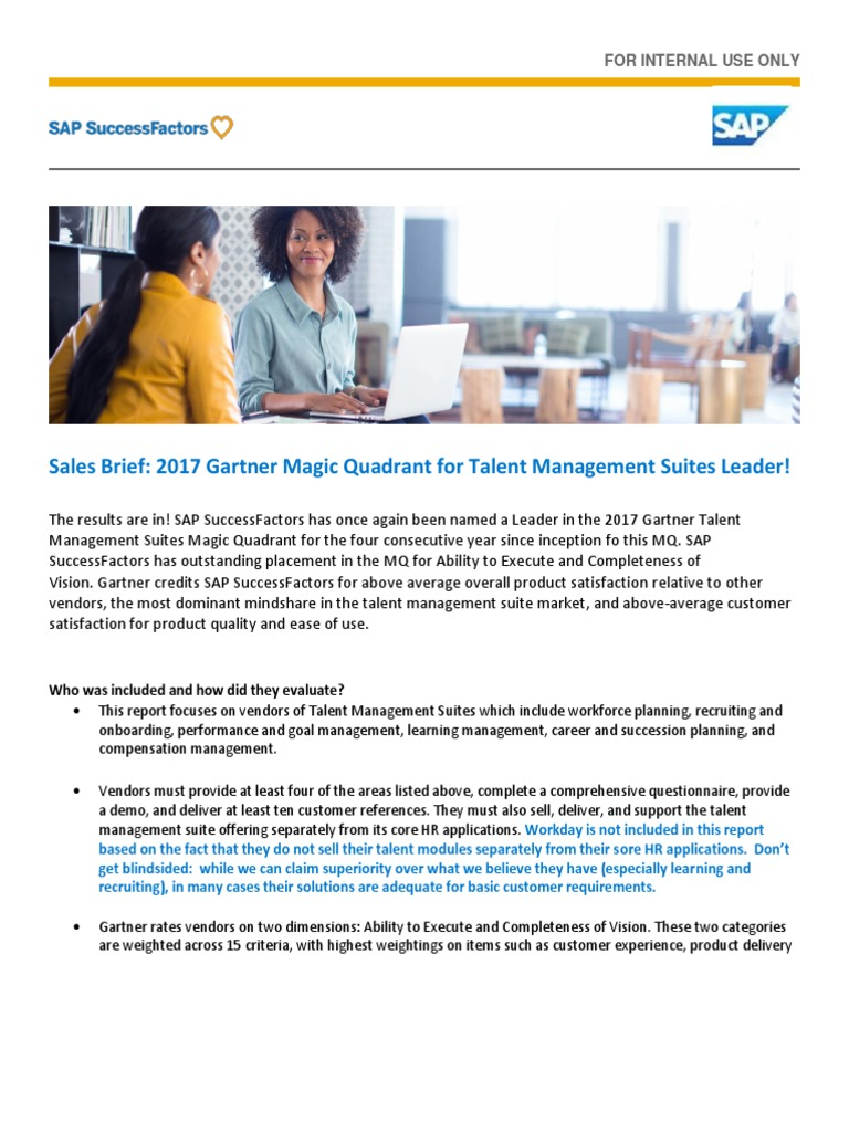 gartner magic quadrant talent management pdf