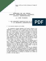 Derechos de Los Fieles Derecho Administrativo Canonico
