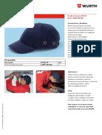 Gorra de Impacto