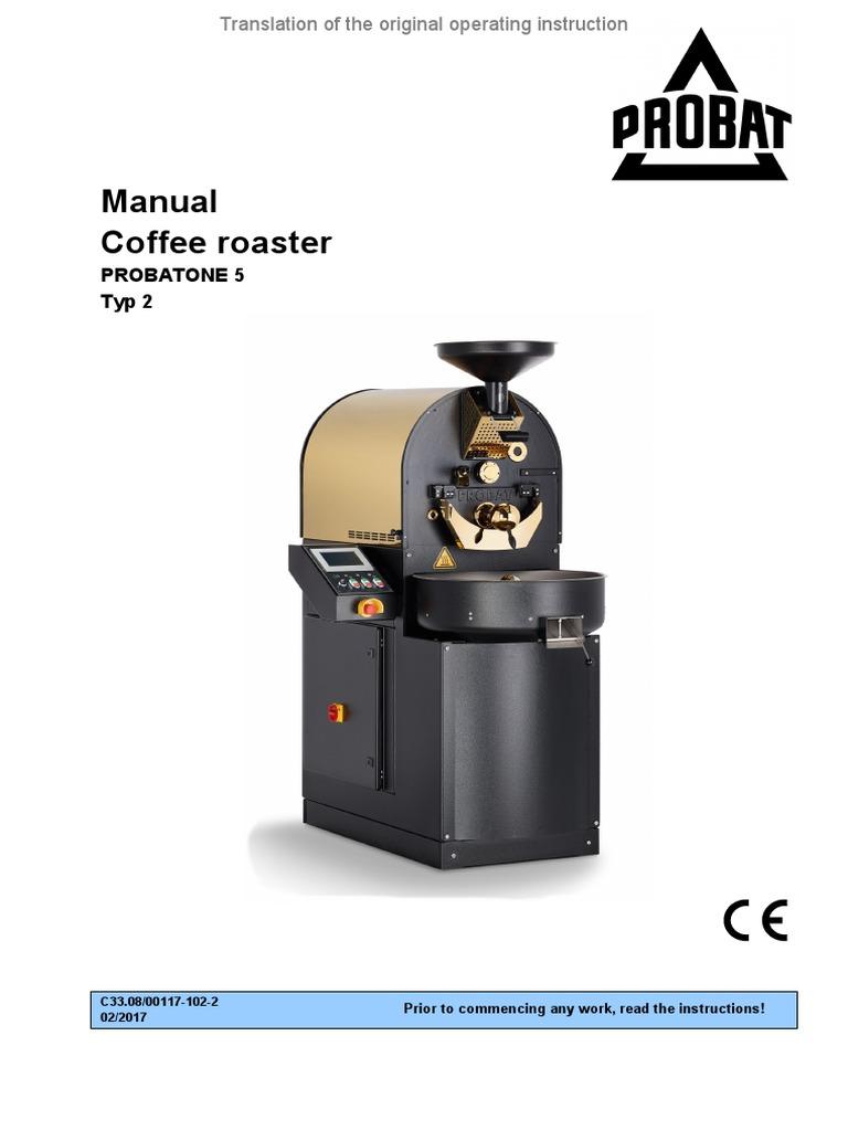 Probat l-25 coffee roaster   coffeetec.
