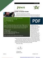 JUnit a Starter Guide