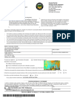Orange County Form Boe-58-h for 2017affidavit of Cotenant Residency