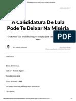 A Candidatura de Lula Pode Te Deixar Na Miséria _ Empiricus
