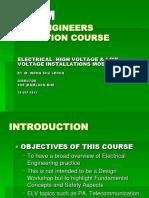 EHLV Installation - First Half