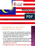 Malaysian Studies Chapter 3 the Malaysian Government System(4)