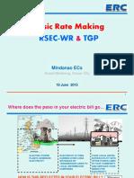 Basics of Rate Making