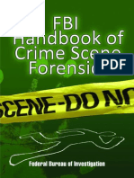 FBI Handbook of Crime Scene For - Federal Bureau of Investigation.epub