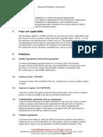 Manual 004 Quality Agreements