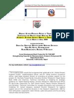 Tarun Das ADB Nepal Activity Report April 2010