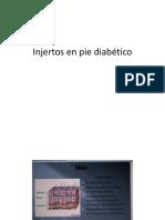 Injertos en Pie Diabético