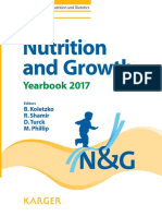Nutrition and Growth Yearbook 2017