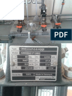 Booster Pump, Injector, Motor and Pump Tag Plates