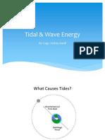 Lec 04, Tidal & Wave Energy
