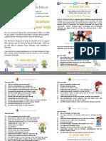 Speech Pathology Checklist