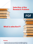 selectionoftheresearchproblembrgoffice13-130811122609-phpapp02