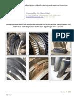 Gas Turbine Fuel Selection