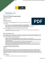 Portal Todo FP Técnico en Producción Agroecológica