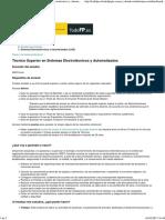 Portal Todo FP Técnico Superior en Sistemas Electrotécnicos y Automatizados