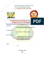 MONOGRAFIA. Compuestos Tóxicos y Cancerígenos