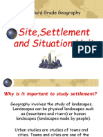 Settlement Introduction