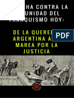 De La Querella Argentina a La Marea Por La Justicia
