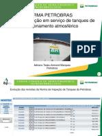Norma Petrobras N 2318 Inspecao Em Servicos de Tanque de Armazenamento Atmosferico Adriano Marques Petrobras