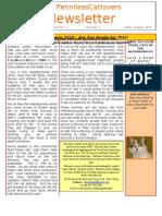 PennilessCatLovers Newsletter vol 1