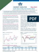 IATA Passenger Analysis - May 2017