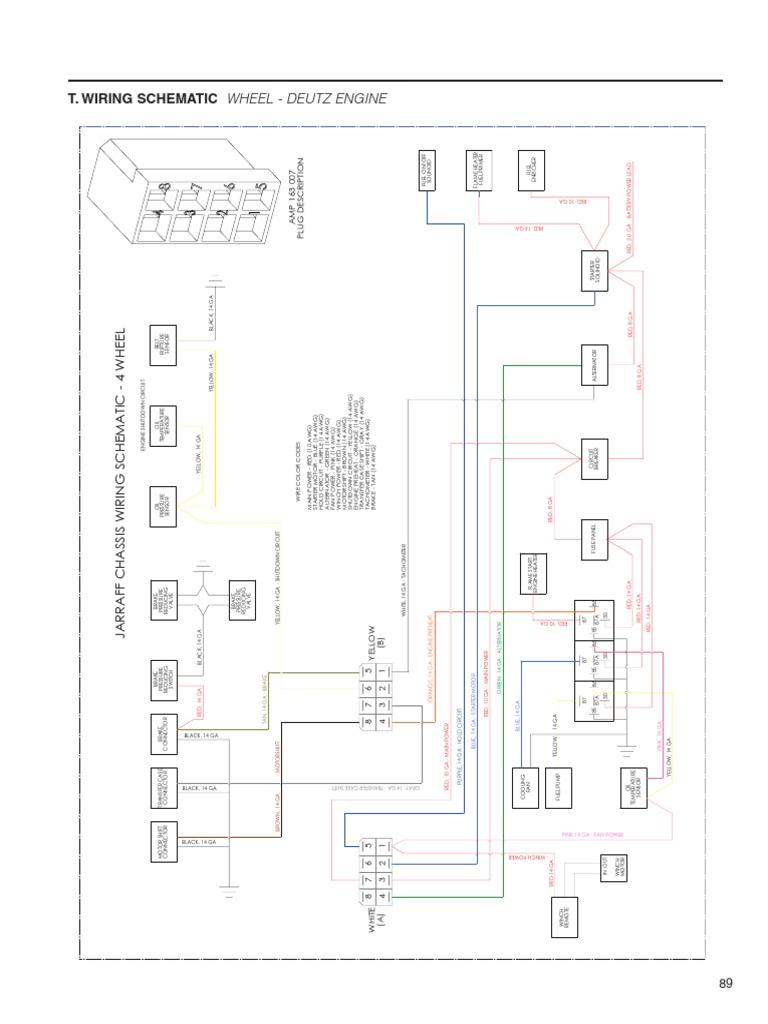 deutz engine wiring diagram machine repair manual Wisconsin Wiring Diagrams
