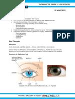 LXL Gr12LifeSciences 14 the Eye 15May