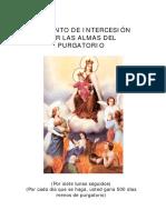 43329708 Intercesion Por Las Almas Del Purgatorio