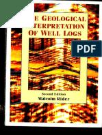 Rider 2000 P291 Book Geological Interpretation of Well Logs